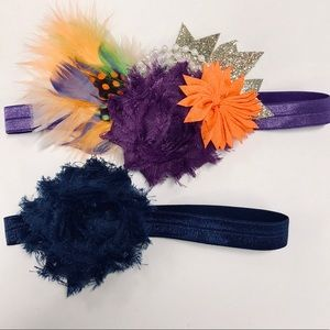 Other - Baby girls BOHO headband bundle summer lot